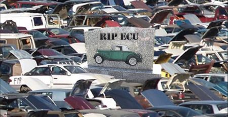 automobile graveyard